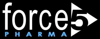 Force 5 Pharma Logo Shadow
